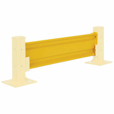 Protective Rail Barrier 4 Ft. Rail, Brackets Sold Separately, Lot of 1