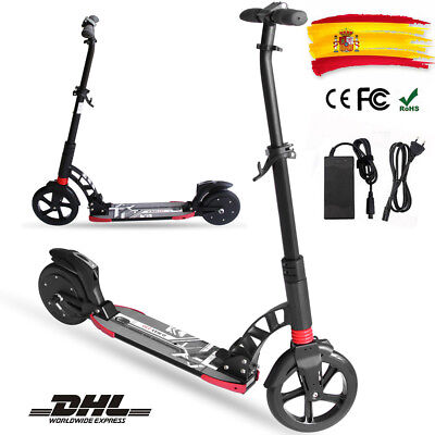 "8"" Patinete electrico scooter E-Scooter 15KM/h-150W Electric Scooter Negro"