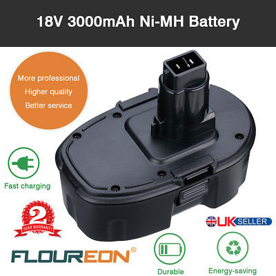 DE9098 Ni-MH Battery for Dewalt Drill 18V 3.0Ah DC9096 DE9095 DC725KA DE9096 UK