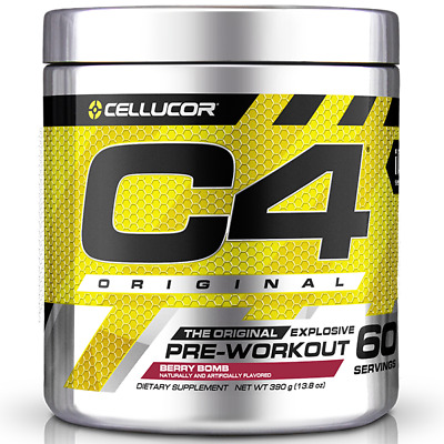 Cellucor C4 Gen4 Id Series 60 Serves Pre Workout Energy Focus Pre-Workout