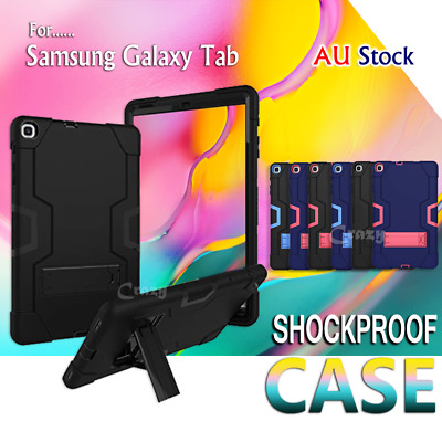 """Shockproof Heavy Duty Tough Case Cover For Samsung Galaxy Tab A 10.5"""" T590 T595"""