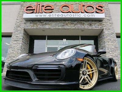 2017 Porsche 911 Turbo S Turbo S Convertible OVER $25K IN UPGRADES Burmester Sound LOADED