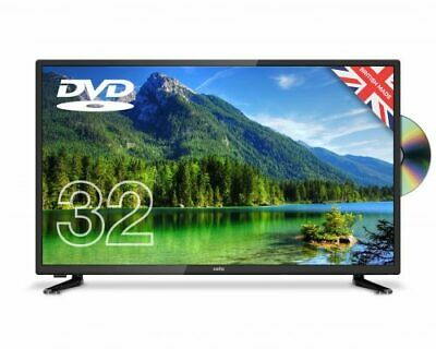 """CELLO 32"""" inch LED TV DVD FREEVIEW HD 720P 3 x HDMI USB BRAND NEW & MADE IN UK"""