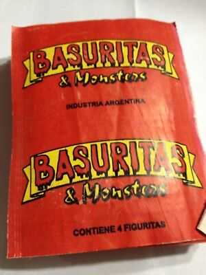 Basuritas 50 UNOPENED Pack Argentina  Garbage Pail Kids Card Set