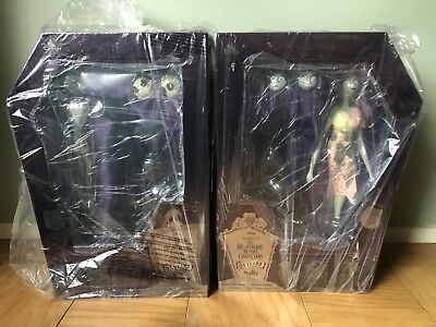 Jack Skellington And Sally 25th Anniversary Limited Edition Dolls