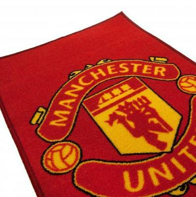 NEW  Manchester United Floor Rug great XMAS BEDROOM GIFT