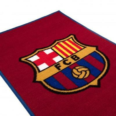 NEW FC  BARCELONA Floor Rug great XMAS BEDROOM GIFT