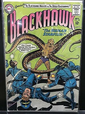 Blackhawk #190 (1956 Series DC 1963) Combined Shipping Deal!