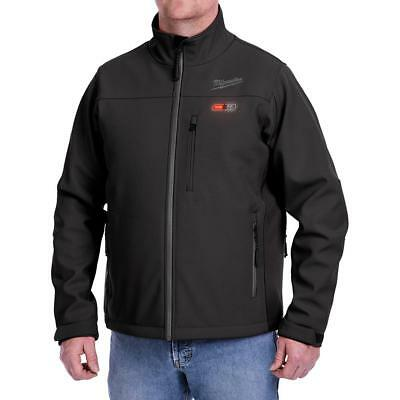 Milwaukee 202B-21XL M12 Heated Toughshell Jacket Kit, XL, Black