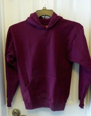 Hanes Youth EcoSmart Pullover Hooded Sweatshirt Hoodie L (14-16) Choose Color