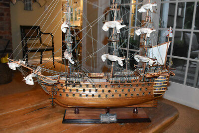 Handmade Replica - Hms Victory 1805 - Amazing Detail - Beautiful!!!!!