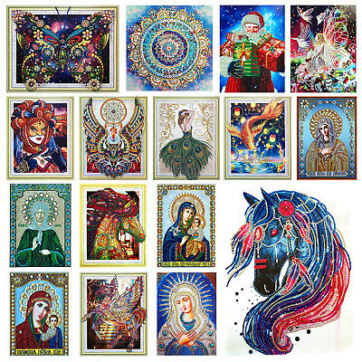 5D Partial Drill Special Shaped Diamond Painting DIY Cross Stitch Embroidery Kit