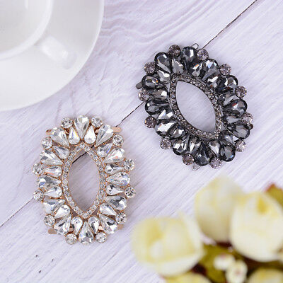 1PC rhinestone metal shoe clips women bridal shoes buckle decor accessories Nice
