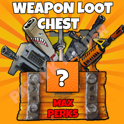 Fortnite | Weapons Loot Chest | Save The World | MAX PERKS | Check Description