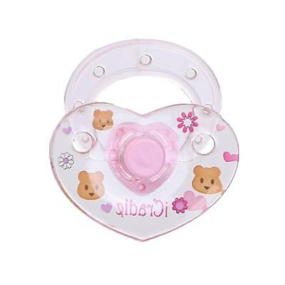 Pacifier+Magnet Hot Cheap White Reborn Doll Supplies Dummy For Reborn Baby Gift