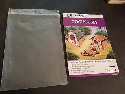 Ucando-Do-It-Yourself-Series-Two-Styles-Of-Doghouses-Blueprints-And-Instruction
