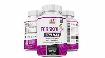 Pure Forskolin Extract for Weight Loss Appetite Suppressant Carb Blocker