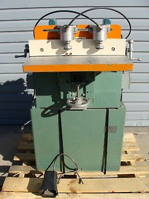 Ritter R-800 Double Motor / Spindle Horizontal Boring Woodworking Shop Machine