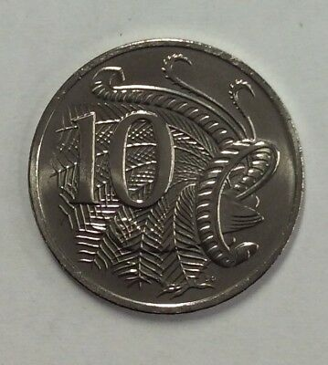 2019 RAM Uncirculated (UNC) 10 cent coin