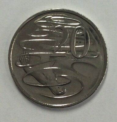 2019 RAM Uncirculated (UNC) 20 cent coin