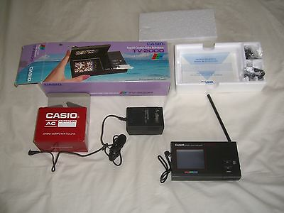 "Casio Liquid Crystal 2.6"" Pocket Color Television TV-2000"