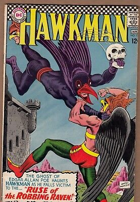 Hawkman #17 (DC-1966) FN/ FN+ Solid, Glossy!  -combine-