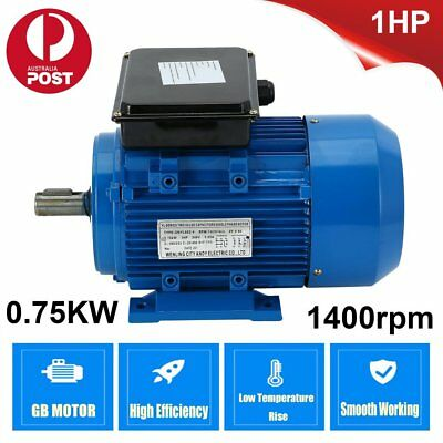 1HP Single-phase Asynchronous Reversible Motor Dual Voltage 240V Electric Motor