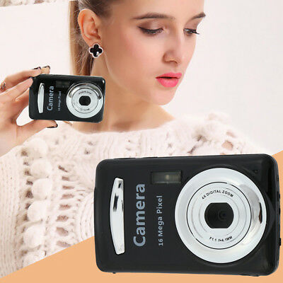 2.4HD Screen Digital Camera 16MP Anti-Shake Face Detection Camcorder Blank Gold