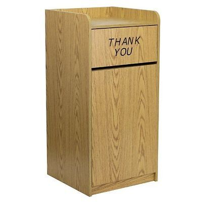 Commercial Trash Can Restaurant Waste Receptacle Garbage Dumpster Trap Top New