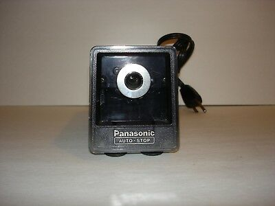 Vintage Panasonic Auto-Stop Electric Pencil Sharpener KP-77 Made in Japan Works