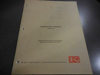 Keithley Instruction Manual For Model 1795