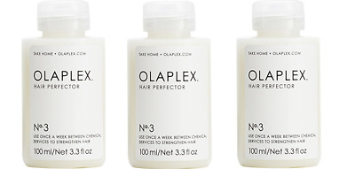 OLAPLEX HAIR PERFECTOR NO 3 - 3.3 Oz - AUTHENTIC & SEALED- Pack of 3
