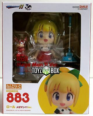 """In STOCK Good Smile Company Megaman 11 """"Roll"""" Nendoroid Action Figure"""