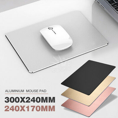 Aluminium Panel Gaming Mouse Pad Non-Slip Base Accurate Control Ultra Thin