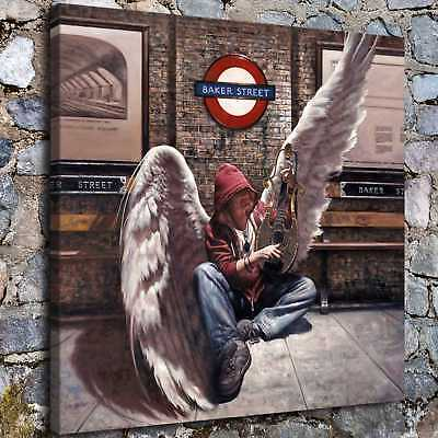 """Angel wings 16""""x16"""" HD Canvas prints Painting Home Decor Picture Wall art Poster"""