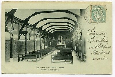 CPA - Carte Postale - France - Rouen - Institution Join Lambert