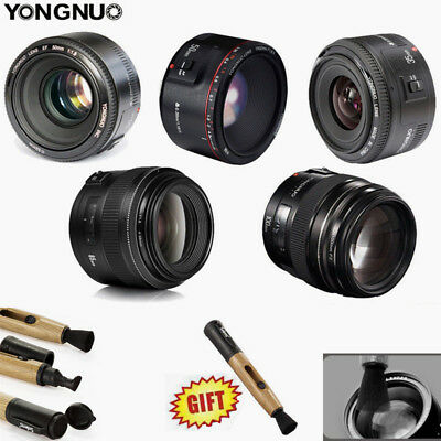 Yongnuo YN 35mm 50mm 85mm 100mm 50mm II AF / MF Prime Fixed Lens for Canon EOS
