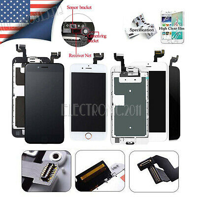 Lot QC A+ For iPhone 6 6S 6 Plus Complete Lcd Button Touch Screen Replacement