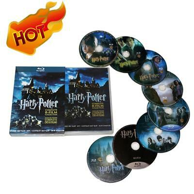 Harry Potter : Complète 1-8 Film Collection (DVD,2011,8-Disc Box Set) Cadeaux FR
