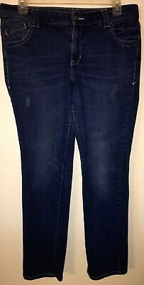 """Lane Bryant Jeans Simply Straight Size 16 Ave length 32"""""""