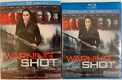 New Warning Shot Blu Ray Dvd 2 Disc Set + Slipcover Sleeve Free World Shipping