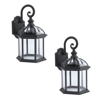 LOT2 Wall Sconce Lantern Lamp Chimney Porch Lighting Exterior Fixture Outdoor BE