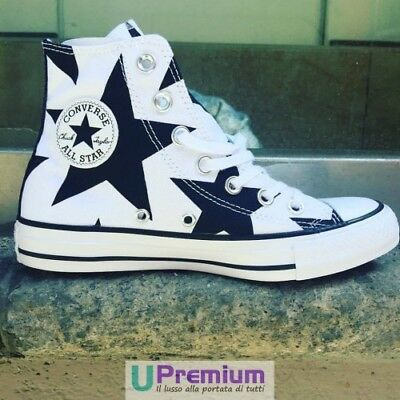 converse star hi canvas nere