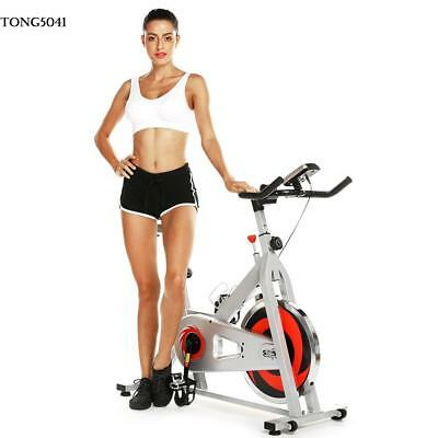 Stationary Exercise Bike Bicycle Cycling Fitness Gym Cardio Workout Home Indoor@
