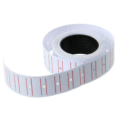 1X(New 10 Rolls Label Paper for MX-5500 Price Gun Labeller V8E2)