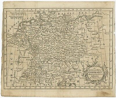 An Accurate Map of Germany II - Kitchin (c.1770)