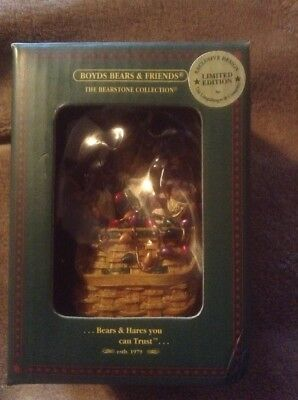 Boyds Bears & Friends Limited Edition 2003 Christmas Ornament