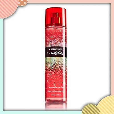 (1) Bath & Body Works A THOUSAND WISHES Fine Fragrance Mist Spray 8oz NEW