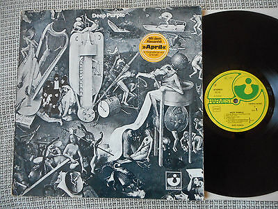DEEP PURPLE Same GERMAN HARVEST RE  LP 1969 rare Missprint Cover