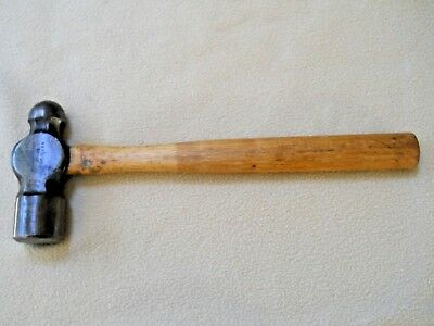 Vintage Blue Point BP - 48 3 Lb Ball Pein Peen Hammer / Blacksmith / Metalworkin